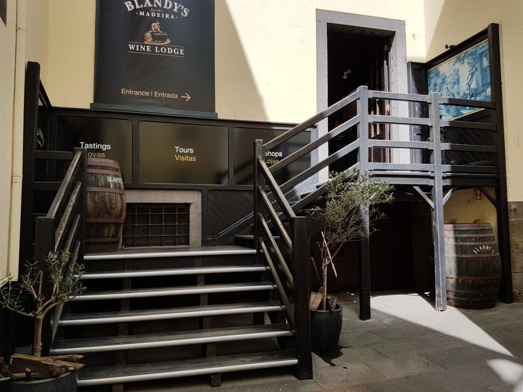 Blandy's Wine Lodg museum funchal vino