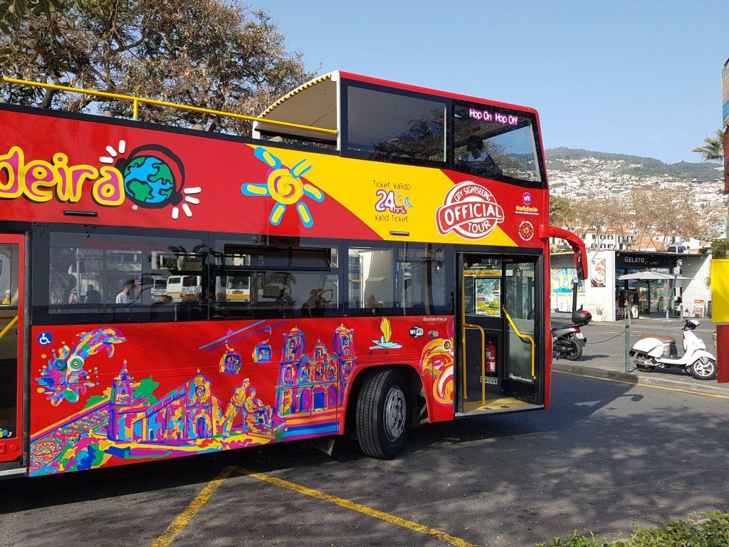 Autobus panoramico Funchal Madeira