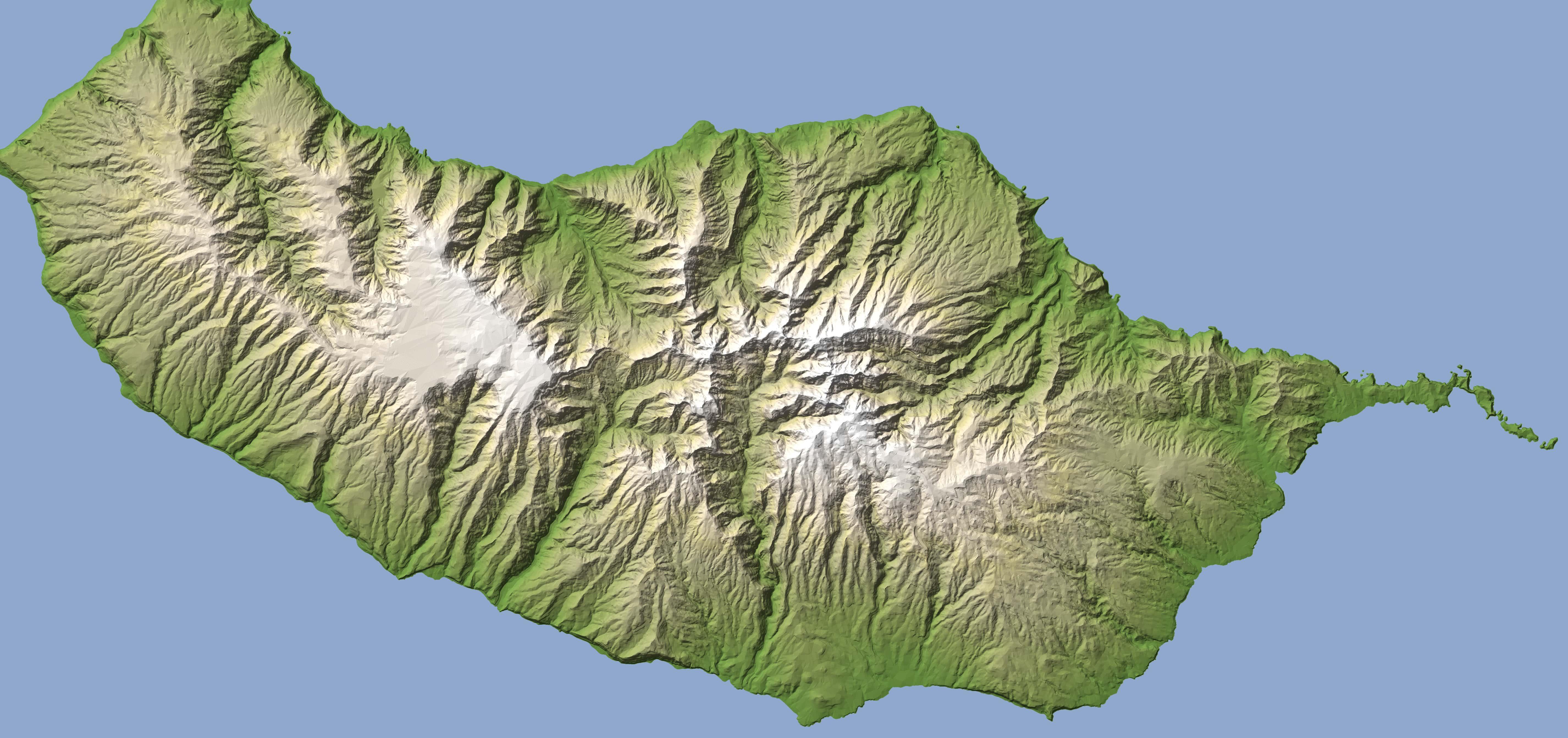 Madeira Cartina.Mappa Di Madeira Madeira Style