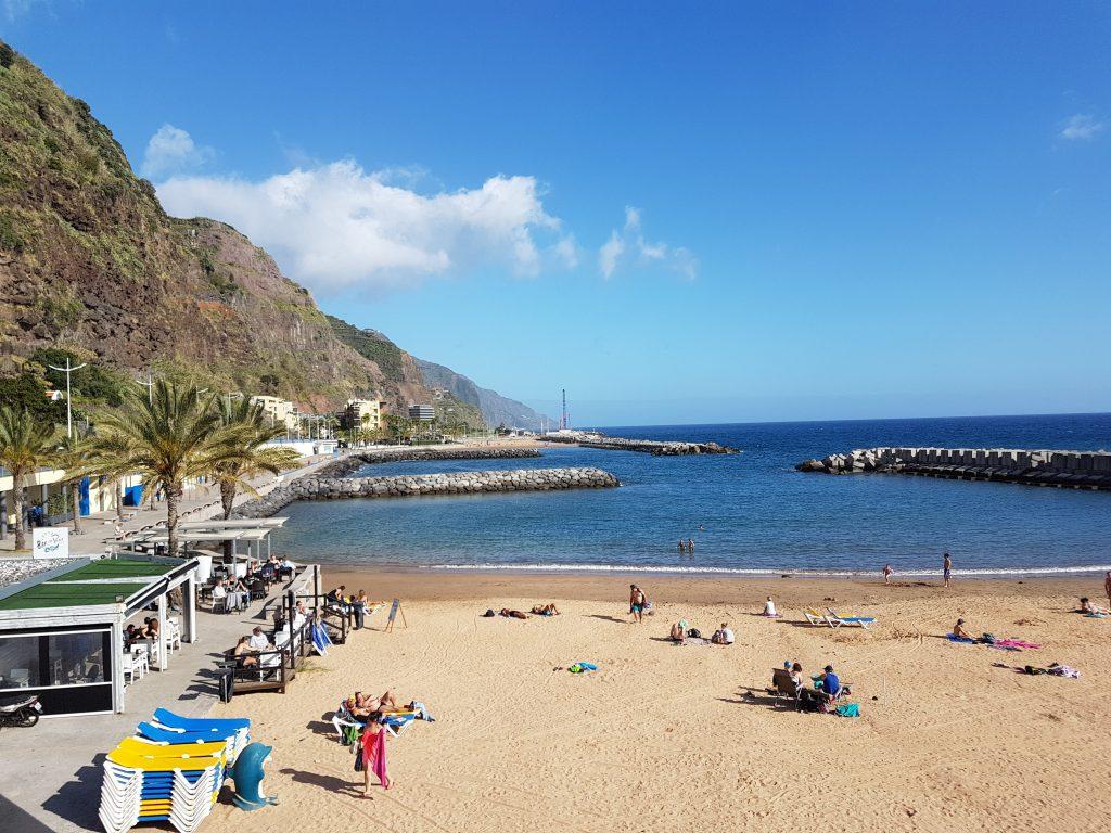 Praia da Calheta spiaggia beach
