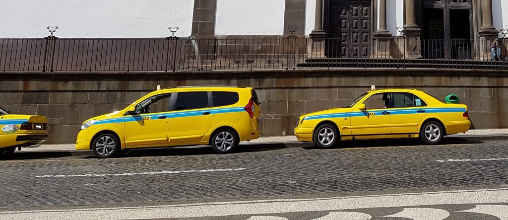 Taxi in Madeira